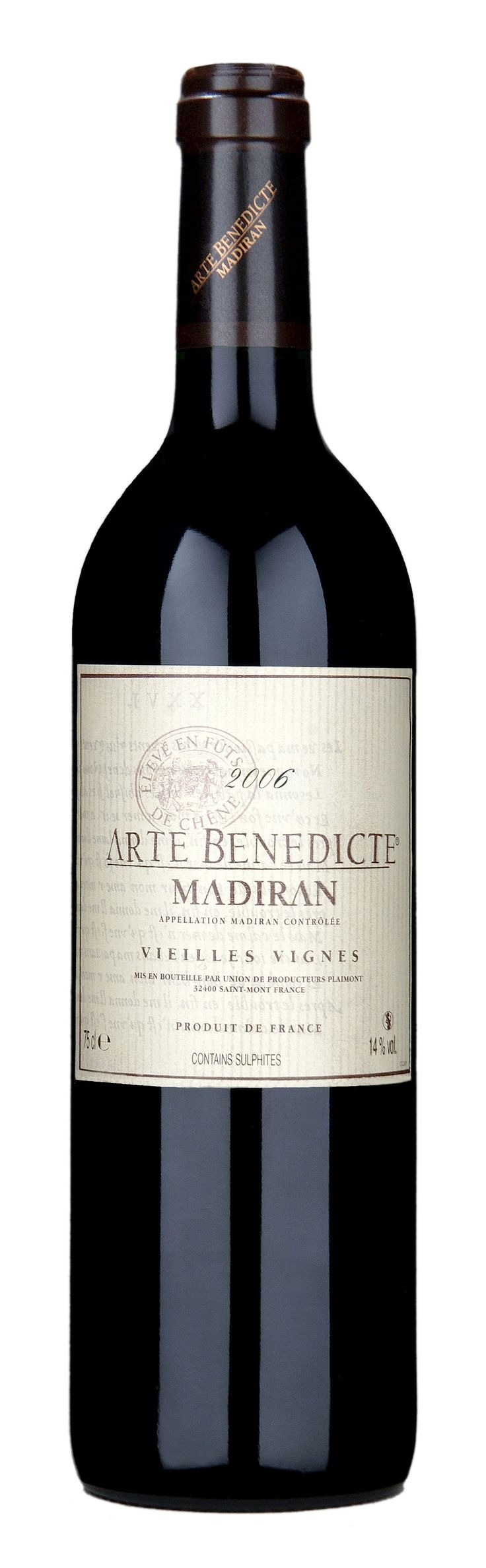 Producteurs Plaimont Arte Benedicte Madiran Rouge so beautiful & savoury & delicious
