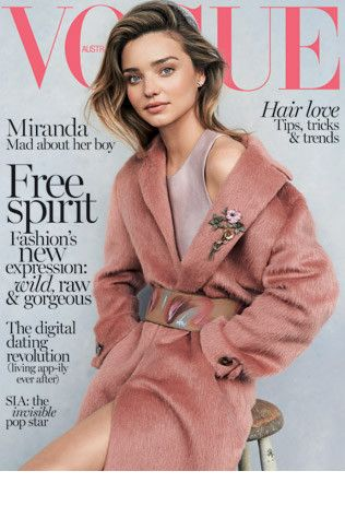First look: Miranda Kerr for Vogue Australia July 2014 - Vogue Australia