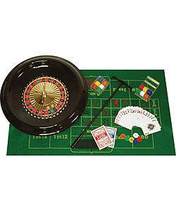 @Overstock - Play like a pro with this 16-inch deluxe roulette set  Vegas game comes with roulette wheel, layout and chip set  Use this gaming piece at your next partyhttp://www.overstock.com/Sports-Toys/Roulette-16-inch-Wheel-with-Layout-and-Chips-Set/3023104/product.html?CID=214117 $25.34
