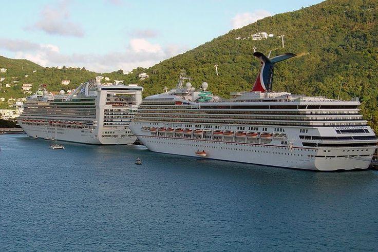 Cruiseschepen gefotografeerd door Bernard Bemboom