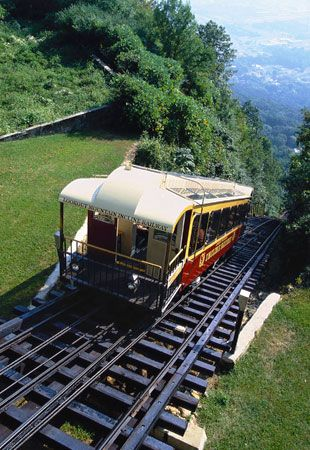 Chattanooga Tennessee's Incline Railway is the steepest passenger railway in the world.