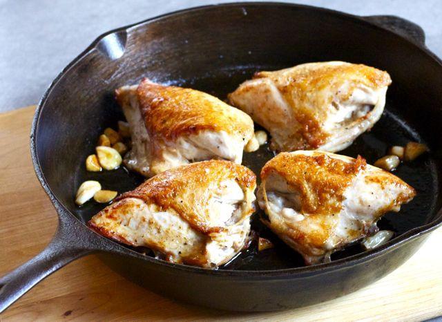 Belgian Ale Pan Roasted Chicken with Garlic (via marriahlavigne.com): Ale Pan, Recipes Marriahlavigne Com, Roasted Chicken, Pan Roasted, Favorite Recipes