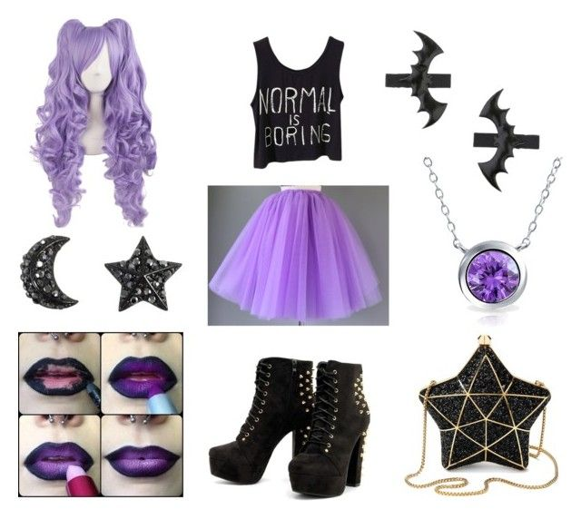 """Pastel Goth (9)"" by frogie13 on Polyvore featuring Mode, Aspinal of London, Miss Selfridge und Bling Jewelry"
