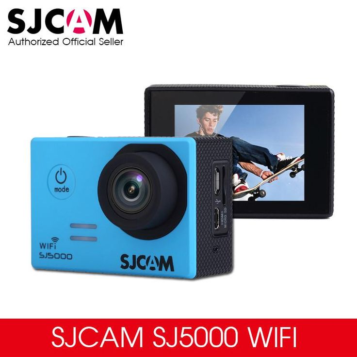 Original SJCAM SJ5000 WIFI Notavek 96655 Action Sport Camera 2.0 LCD Waterproof Camera Optional Package Multi-colored