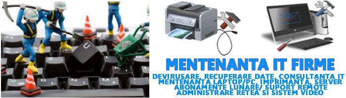 http://www.calculator-service.ro/mentenanta-it-firme/ Servicii de mentenanta it si externalizare it pentru firme.