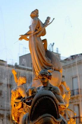Fontana di piazza Archimede