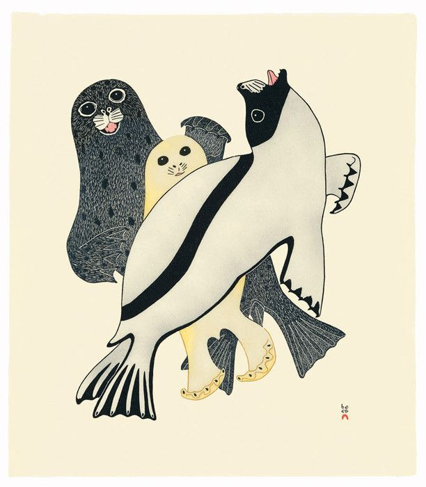 Kananginak Pootoogook - Arctic Seals