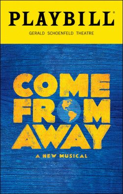 Come From Away Broadway @ Gerald Schoenfeld Theatre - Tickets and ...
