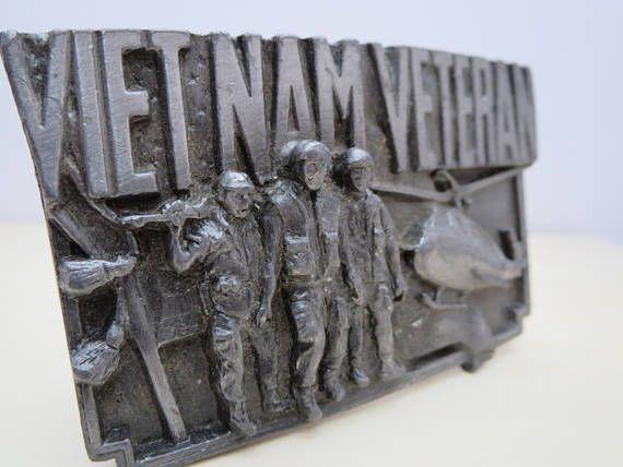 VIETNAM WAR Belt buckle Vintage fashion Men's