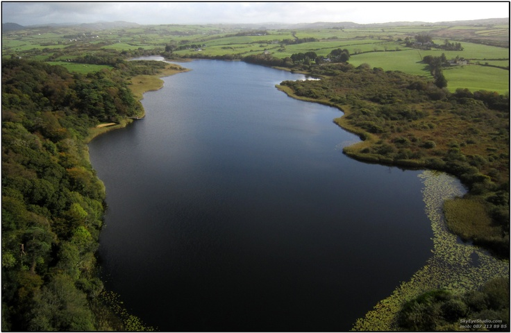 The majestic Lough Abisdealy at Liss Ard estate - ideal for fishing, kayaking and canoeing.