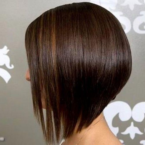 Short Inverted Bob Hairstyle Back View Bob Hairstyles