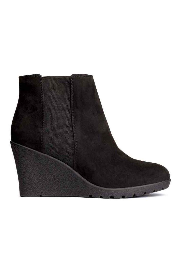Kotníkové boty na klínu | H&M