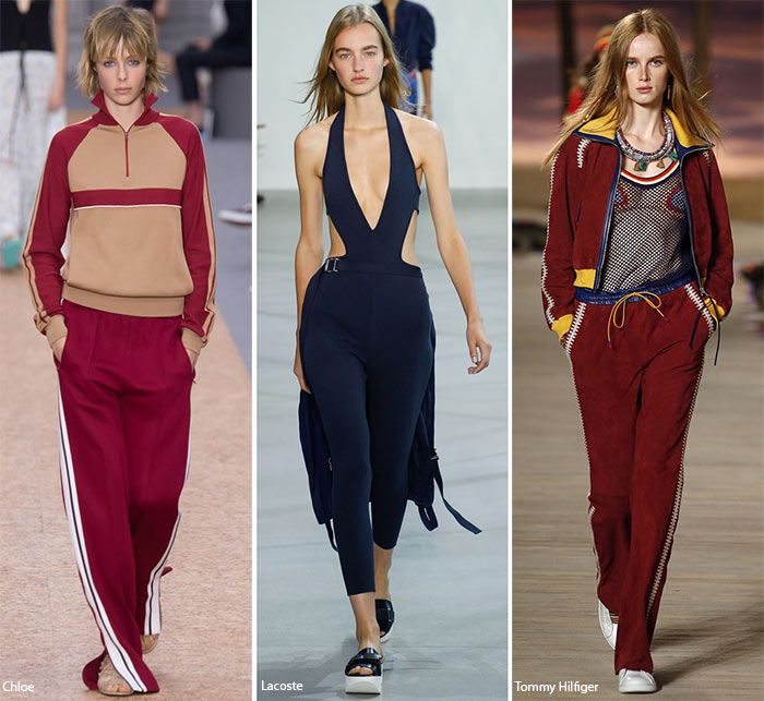 Spring/ Summer 2016 Fashion Trends: Sporty Chic  #trends #fashiontrends