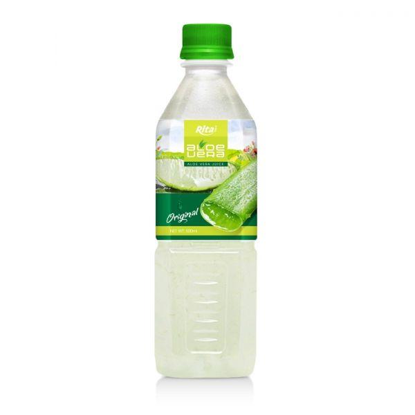 beverage viet nam  whosale Aloe Vera Juice : Aloe vera 500ml Pet Bottle  manufacturers