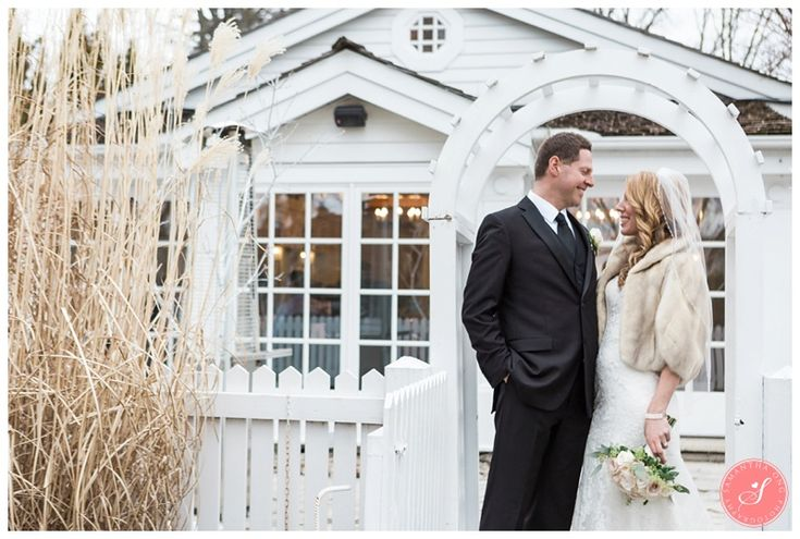 An Elegant Winter Wedding at The Doctor's House: Ann   David