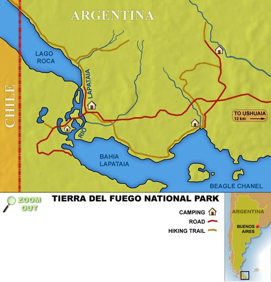 The Best Tierra Del Fuego Ideas On Pinterest Ushuaia - Argentina map ushuaia