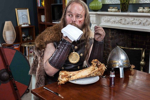 Viking aftershave: New 'fragrance' that lets you smell like a warrior. Fragrance created and atomisers produced by The Aroma Company. I'll have what he's having: The 'fragrance' also contains the scent of roasted animal meat.