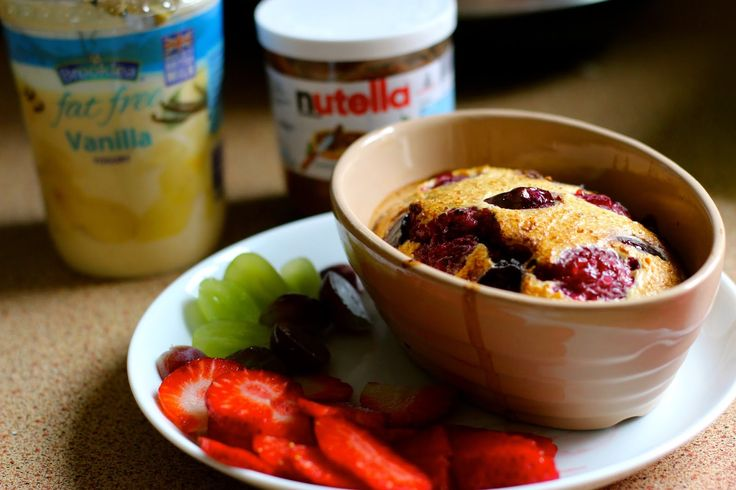 Slimming World Eats: Baked Oats ~ not your average