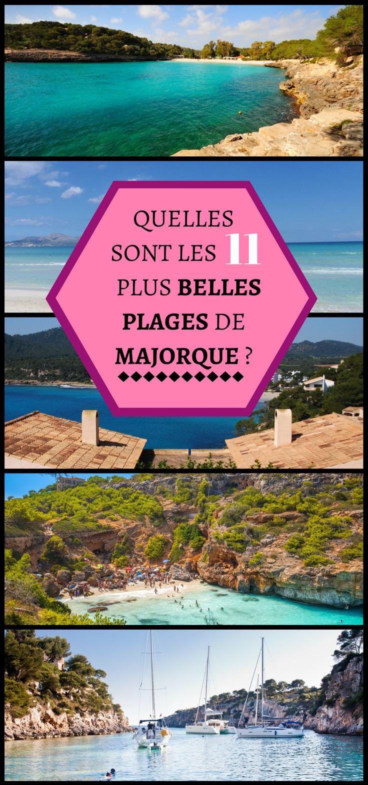 Vous partez à Majorque cet été ? Destination touristique par excellence, Majorque est aussi une île riche en jolies plages. Nous vous offrons la liste de nos 11 plages préférées.#Majorque #Topplages #Espagne #Voyage