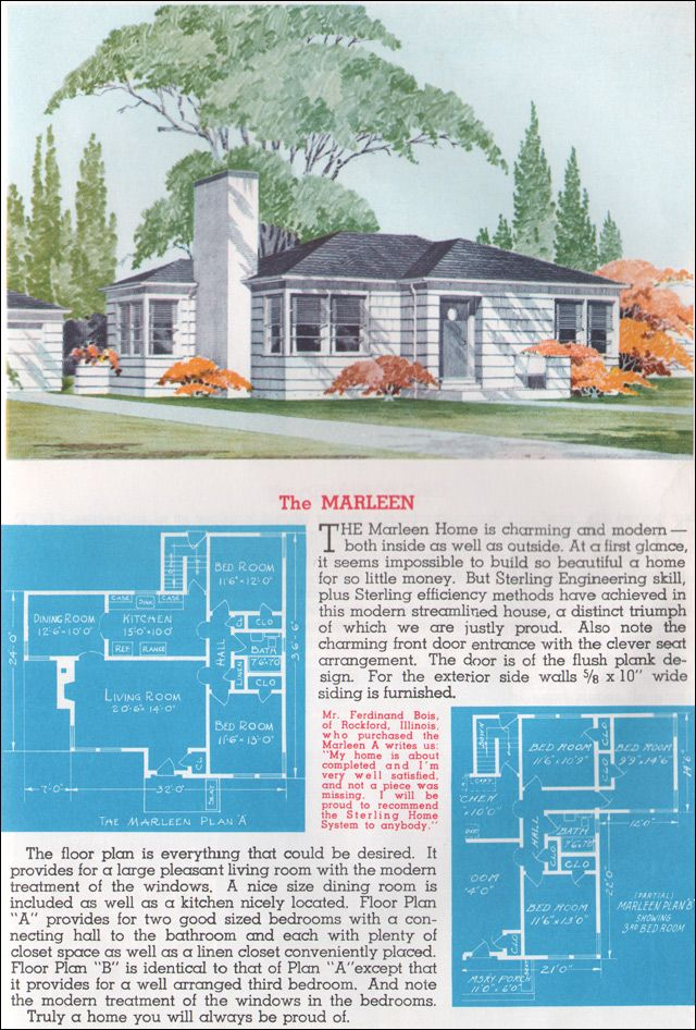 1962 Sterling Homes   The Marleen