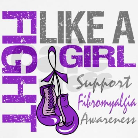 """Purple ribbon + purple boxing gloves (styalized though), with opposite proportions (the ribbon larger and the gloves smaller). I love """"Fight like a girl"""", I'll have the tattoo artist help me decide how to work that in."""