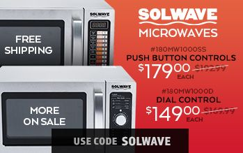 Solwave Microwaves on Sale