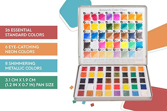 Aquarelle Palette Pigments Sennelier