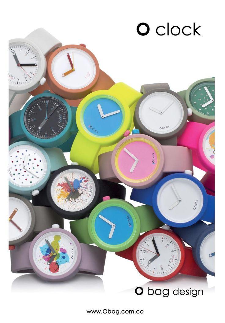 """O bag design """"Be O clock"""" www.Obag.com.co"""