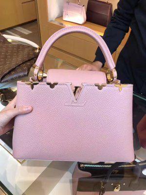 Louis Vuitton Flowers Capucines PM Bag M54664 Magnolia #louis #vuitton #capucines