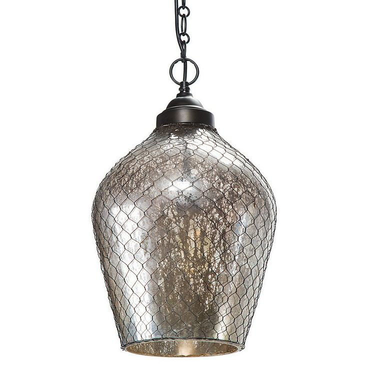 Pottery Barn Harlowe Pendant: 129 Best Images About Mercury Glass On Pinterest