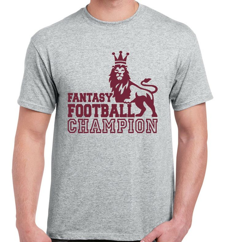 Fantasy Football Champion T Shirt Football T Shirts