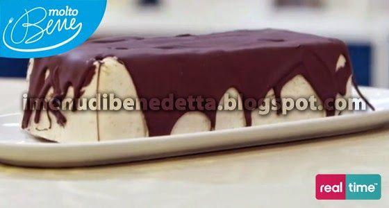 Semifreddo alla Banana con Salsa al Cioccolato di Benedetta Parodi
