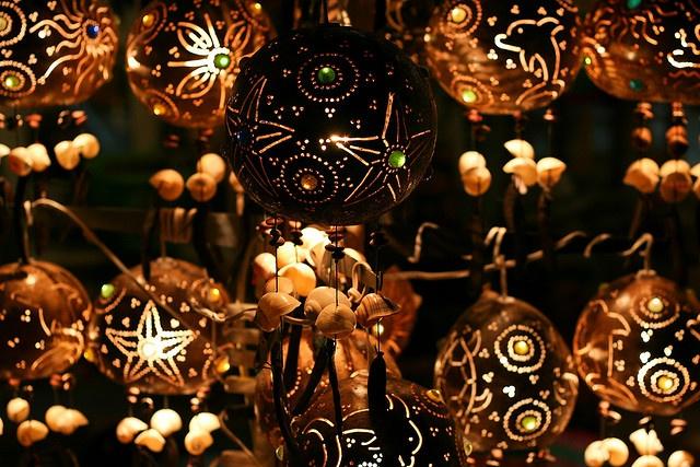 Mexican lanterns