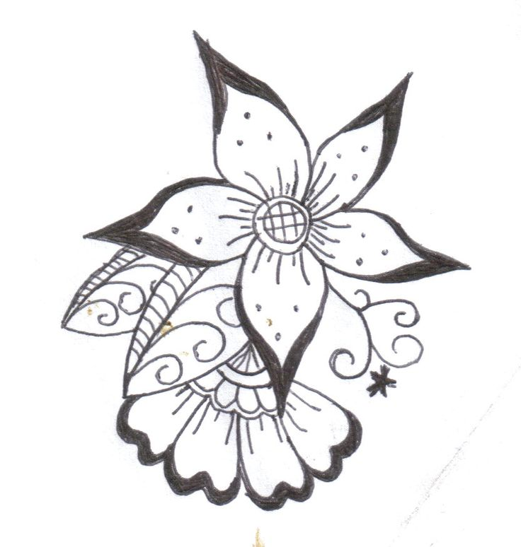 Top 25 best Henna flower designs ideas on Pinterest Simple