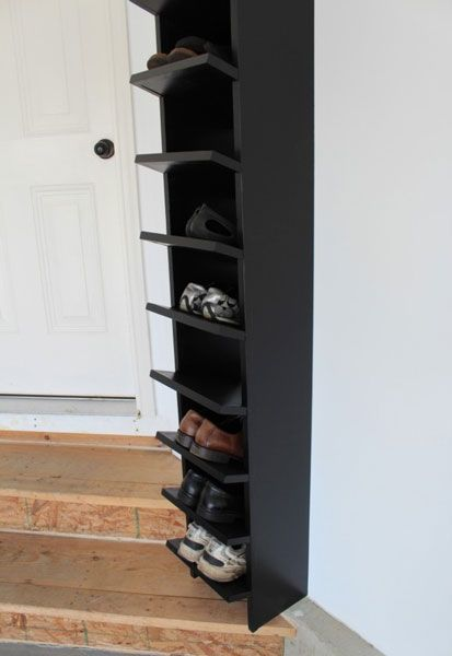 Can't Believe a Shoe Rack Can Be Made to Look So Beautiful Ever