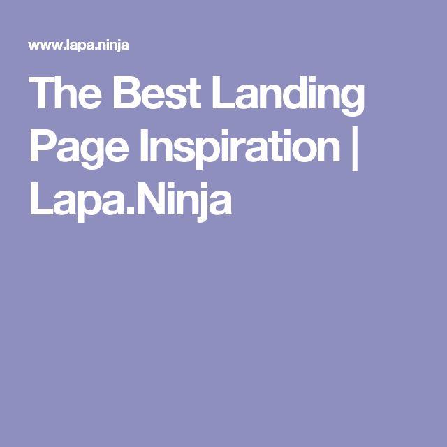 The Best Landing Page Inspiration | Lapa.Ninja