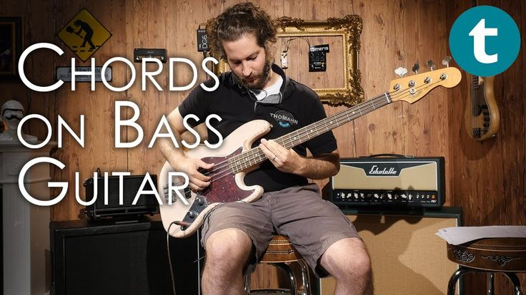 Chords on Bass Guitar | Tutorial