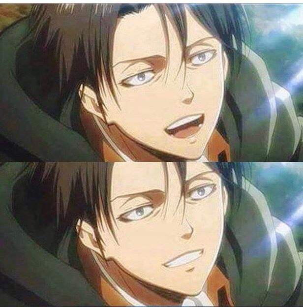 i can die in peace now << actually not really cuz it's been said that when Levi finally smiles again he's gonna die