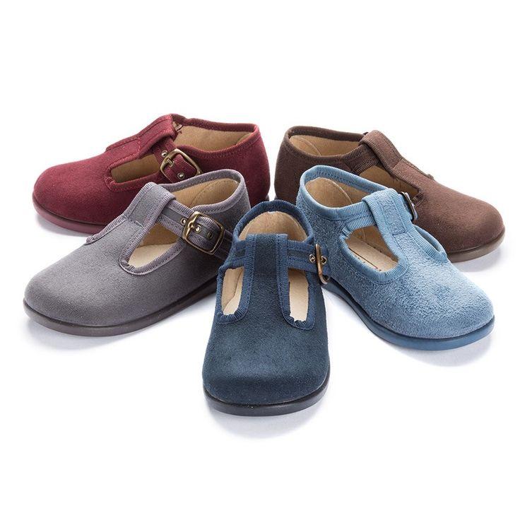Sapatos tipo Camurça Menino - Sapataria crianças Pisamonas