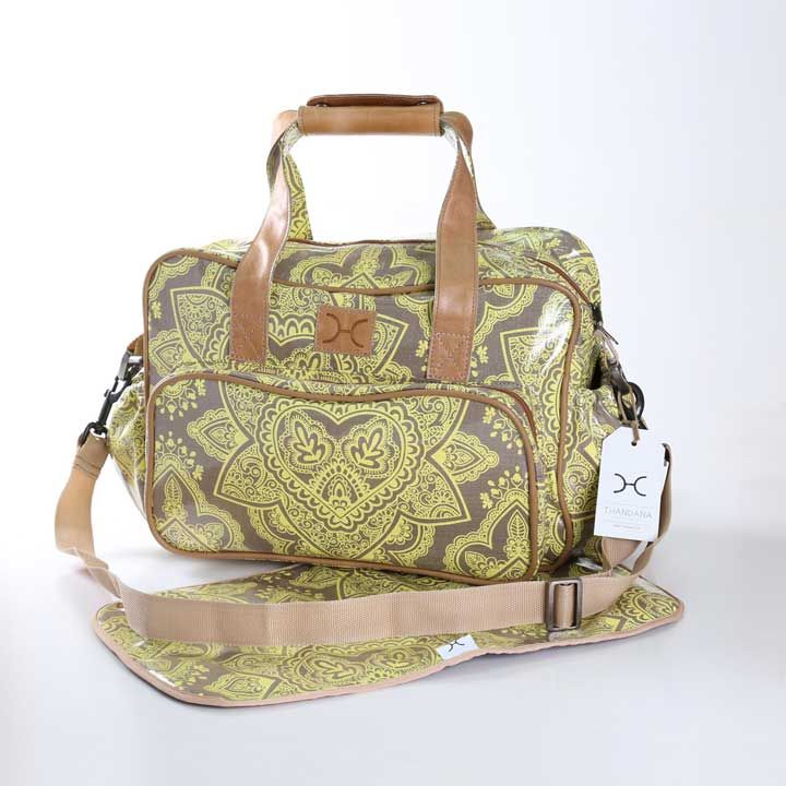 Persia Butter on Clay Nappy Bag