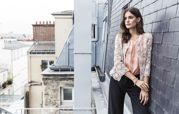 What would Parisian style be without some lace? #stockalovesparis