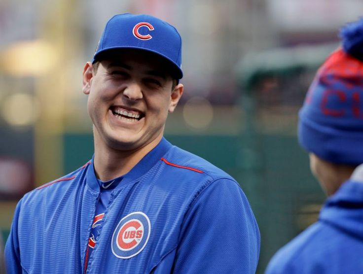 Top 50 MLB players for 2017:   15. Anthony Rizzo, 27, Chicago Cubs, 1B:    In a stacked Cubs lineup, Rizzo is a pillar, twice finishing fourth in MVP and now has three straight 30-plus homer seasons. Had career bests in batting average (.292) and OPS (.928) last season.