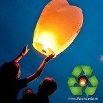 White Eco Wish Lanterns
