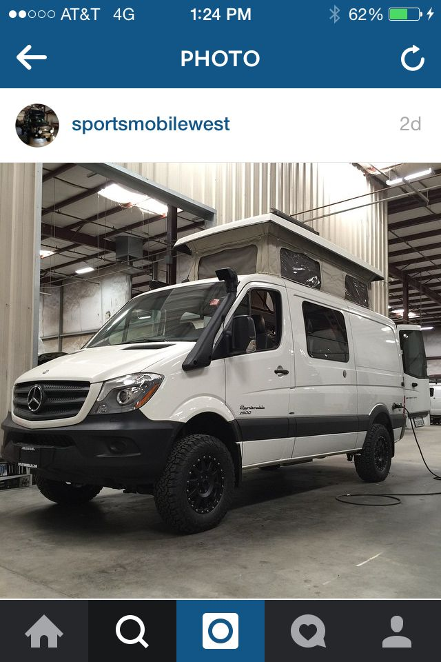 412 best images about sportsmobile on pinterest sprinter for Mercedes benz sprinter 4x4 motorhome