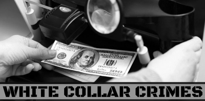 Top 10 Examples Of White Collar Crime
