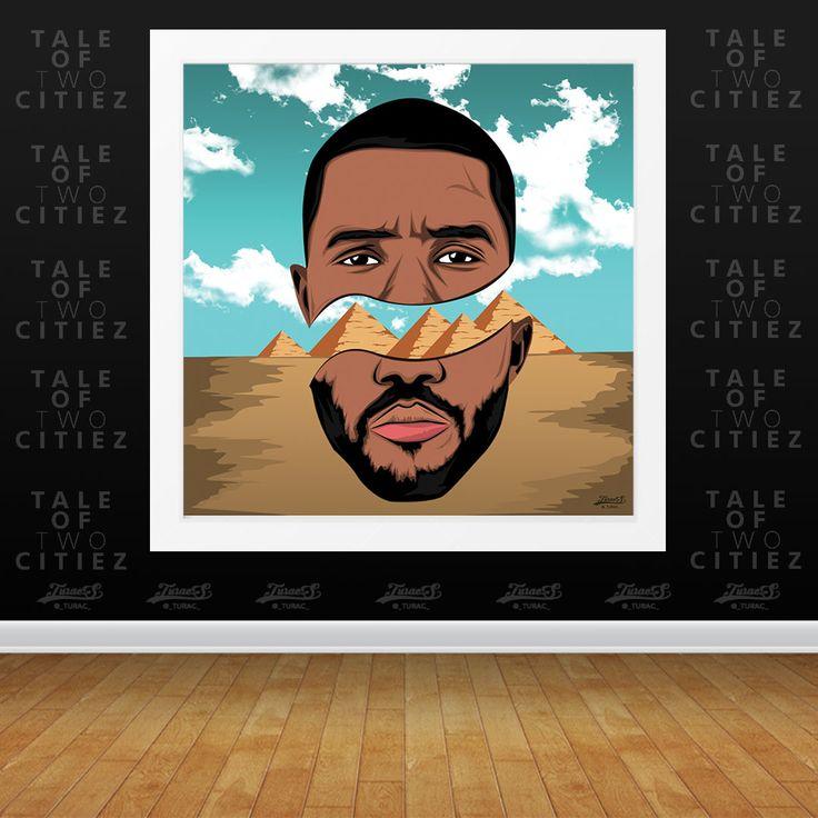 'Pyramids' Frank Ocean Poster