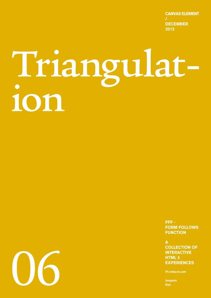 Form Follows Function - Triangulation