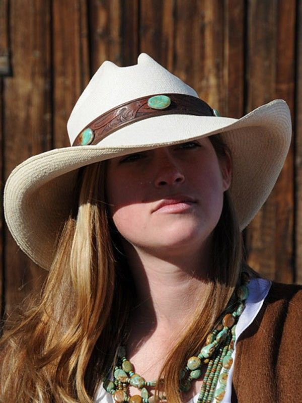 Vintage Leather 3 Stone Green: Cowboys Hats, Stones Green, Vintage Leather,  Ten-Gallon Hats