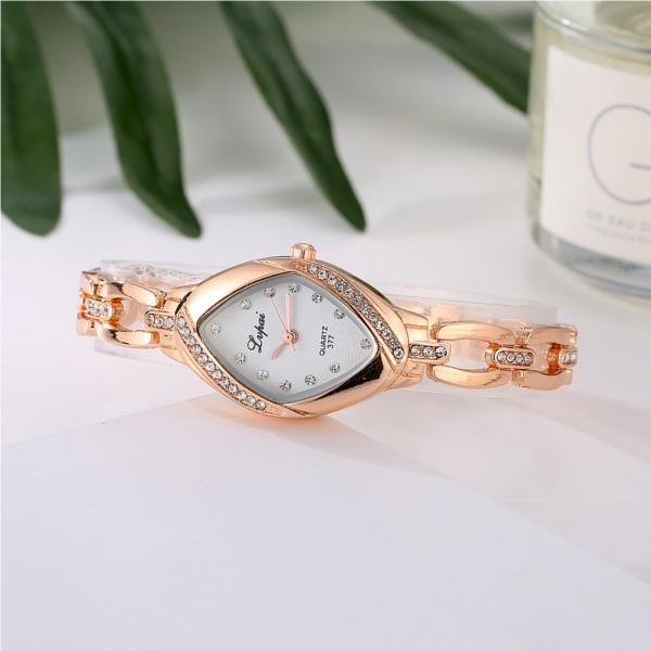 LVPAI P128 Fashion Ladies Dress Bracelet Watch Luxury Party Women Quartz Watch