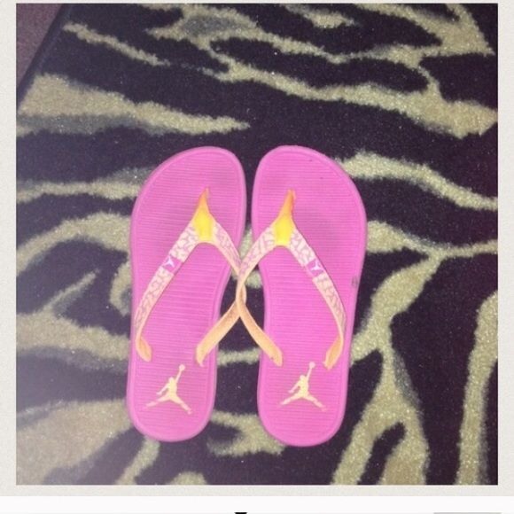Jordan flip flops Authentic. Jordan Shoes
